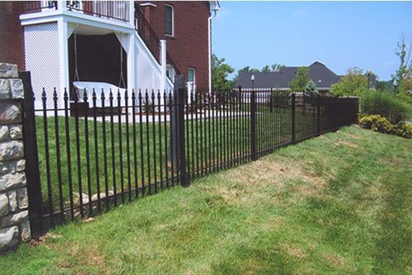 F1 Iron Fence