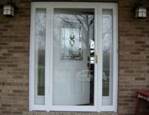 Joe and Belinda Storm Door