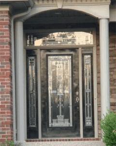 Door on the left
