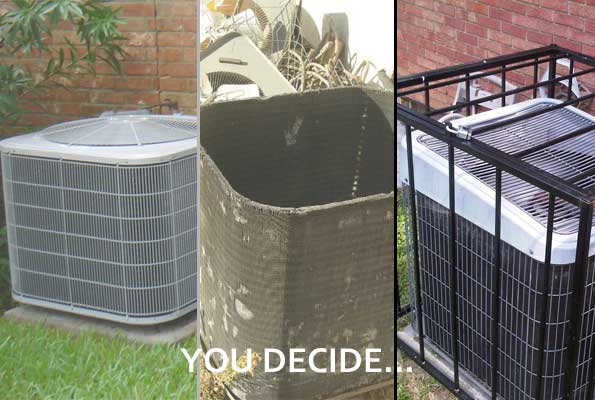 You Decide How to Protect Your AC Unit