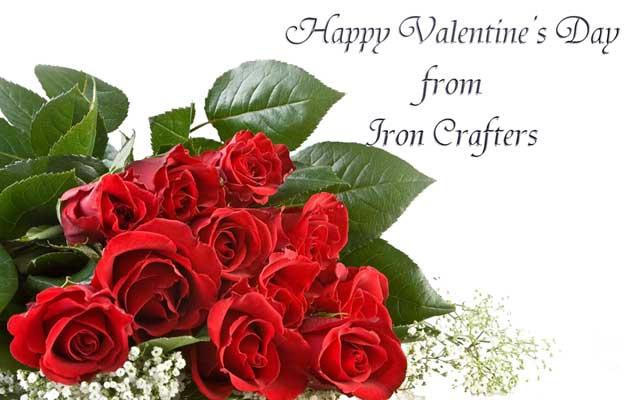 Happy Valentine S Day Iron Crafters Llc