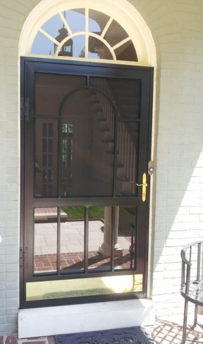 Custom Front Security Door