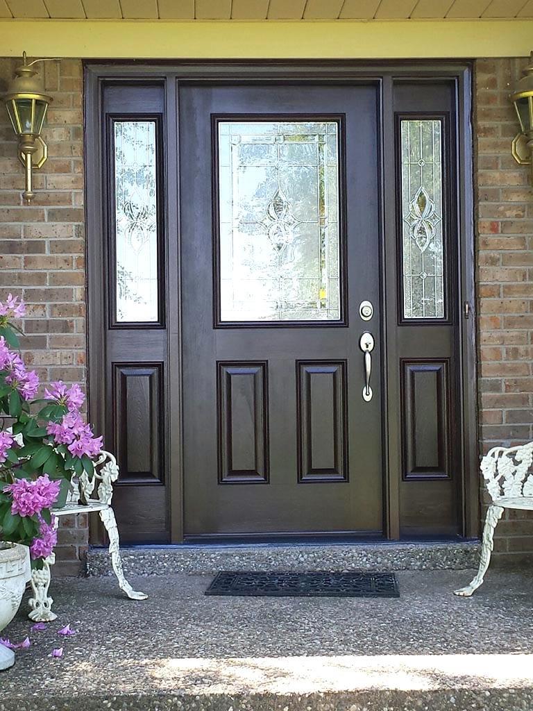 Fiberglass Entry Door : Fiberglass steel entry doors iron crafters llc
