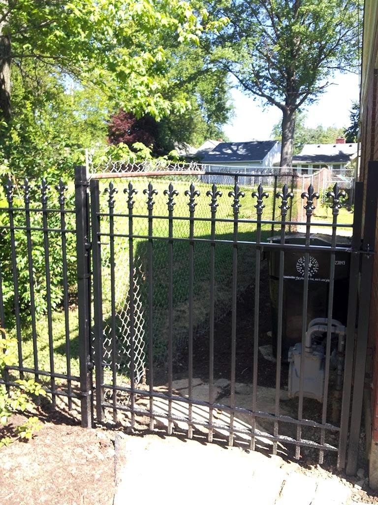 F26 Iron Fence