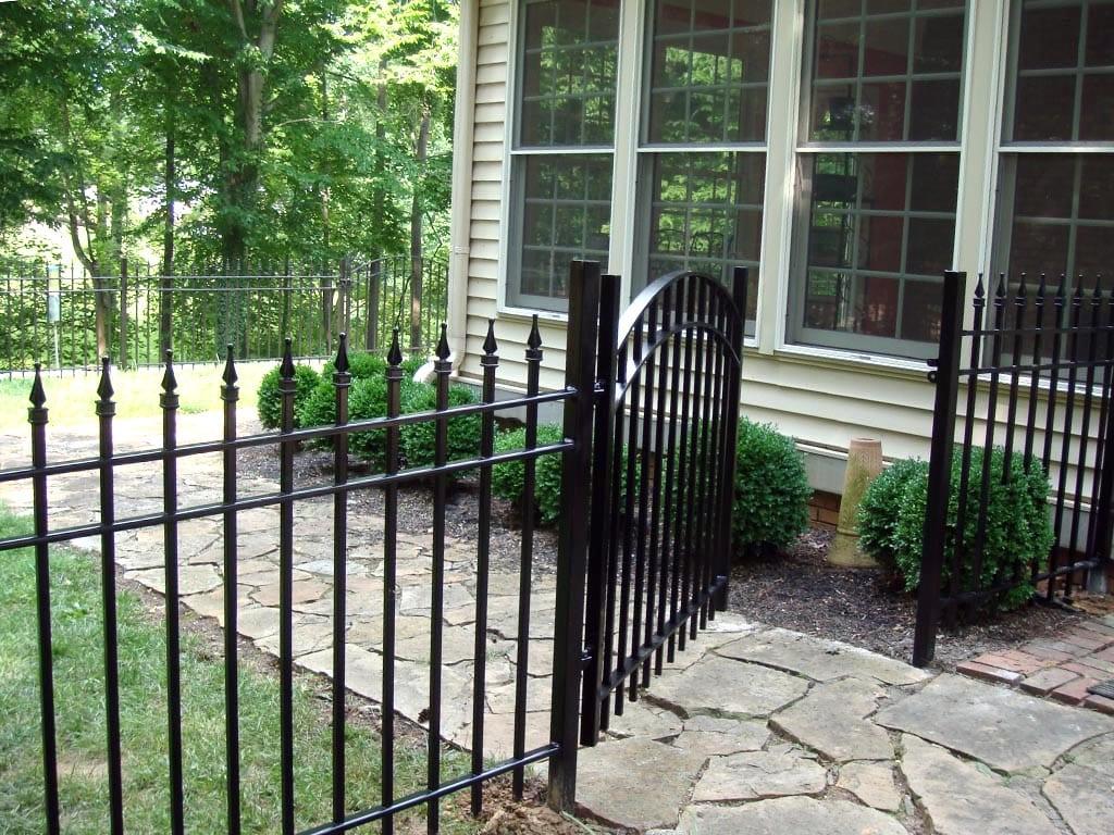 F24 Iron Fence