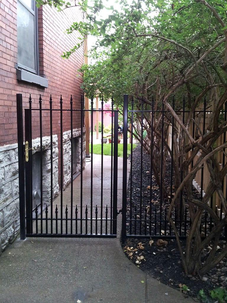 F11 Iron Fence