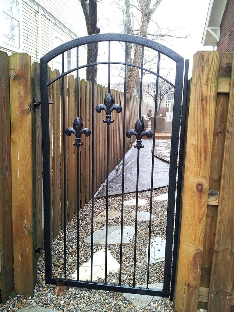 F9 Iron Fence