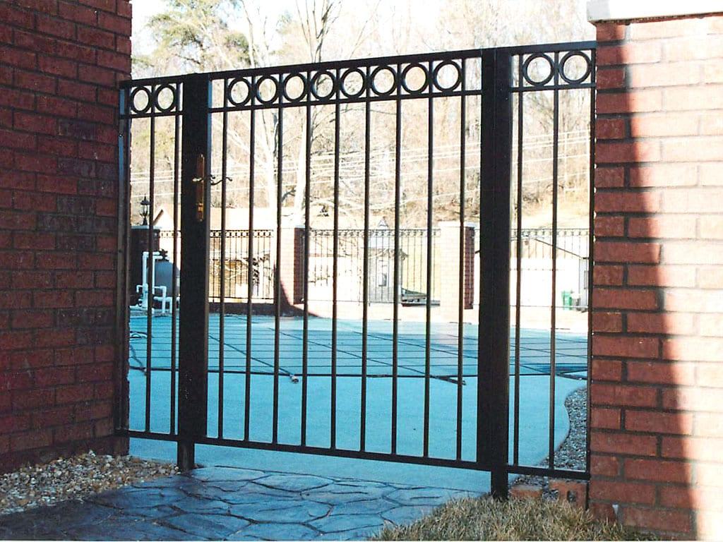 F8 Iron Fence