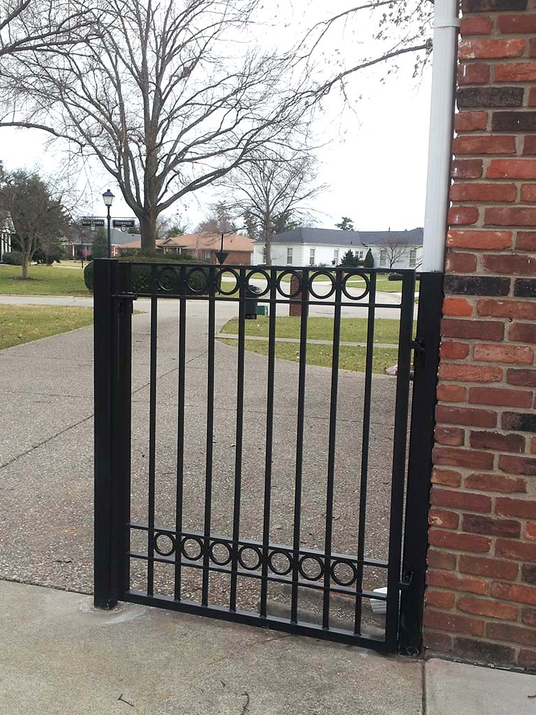 F7 Iron Fence Iron Crafters Llc