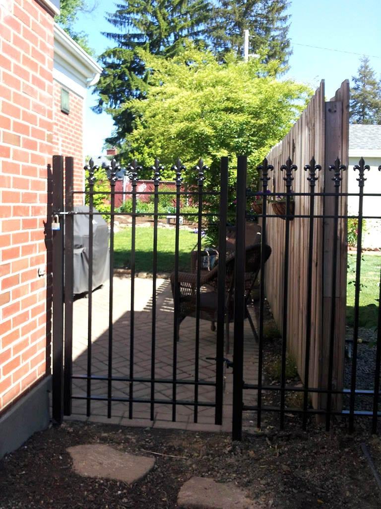 F5 Iron Fence