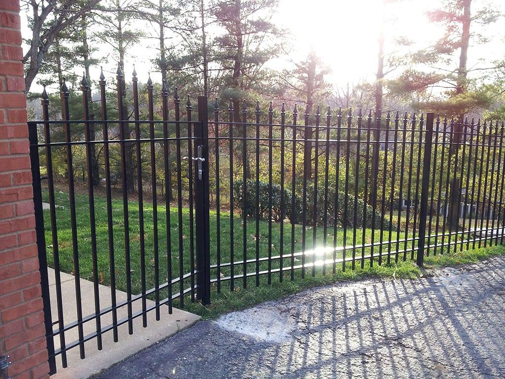 F4 Iron Fence