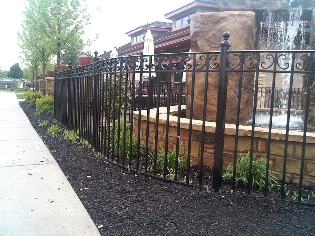 F32 Iron Fence