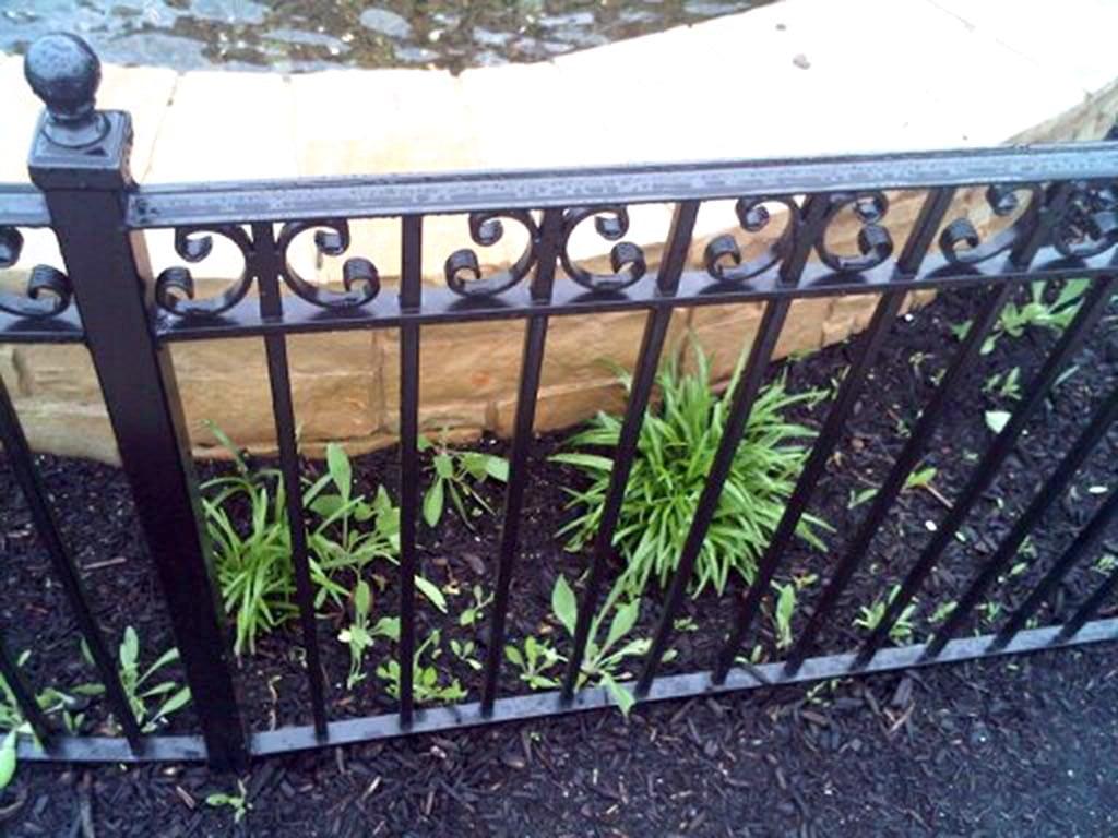 F28 Iron Fence