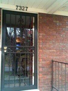 Sc32 Security Doors Iron Crafters Llc
