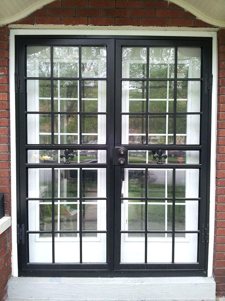 Sc24 Security Doors Fleur De Lis Iron Crafters Llc