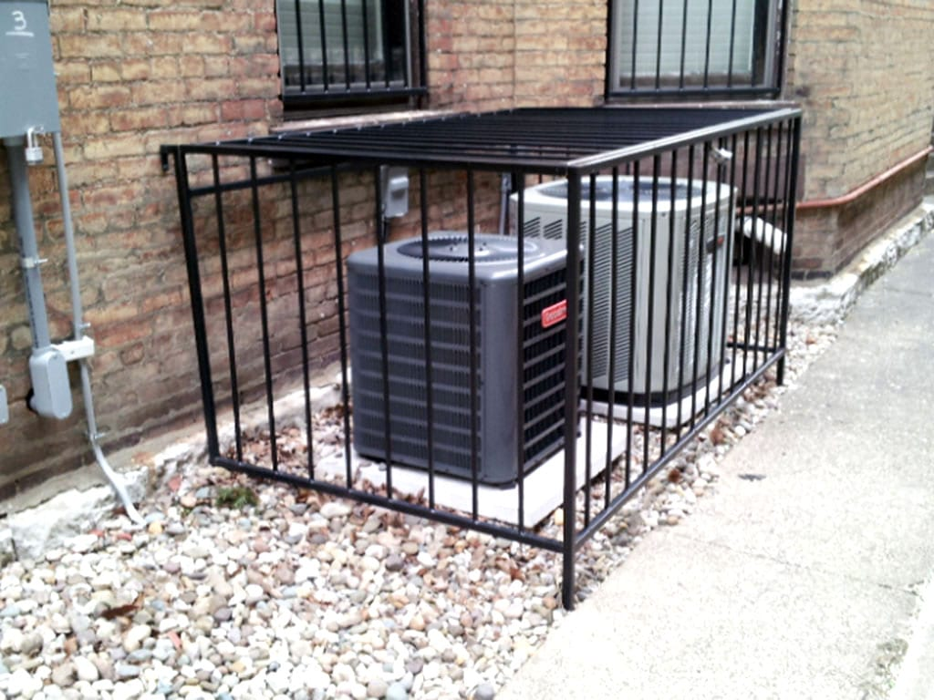 Ac Unit Enclosures Iron Crafters Llc
