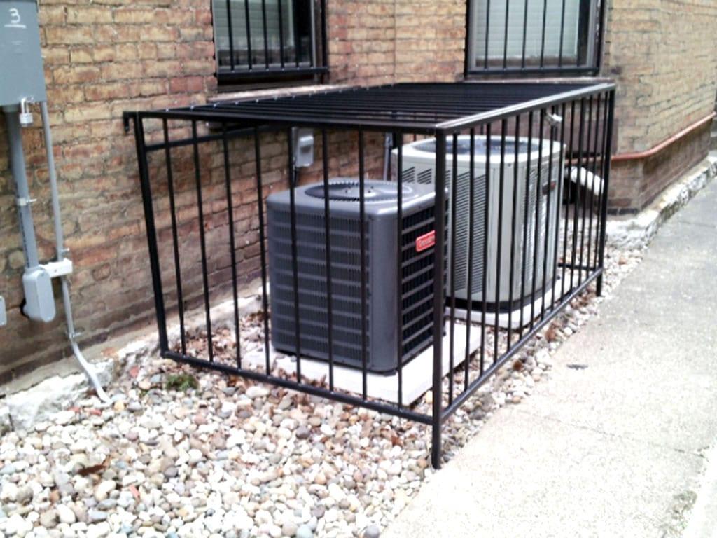 Ac Unit Enclosures Iron Crafters Llc