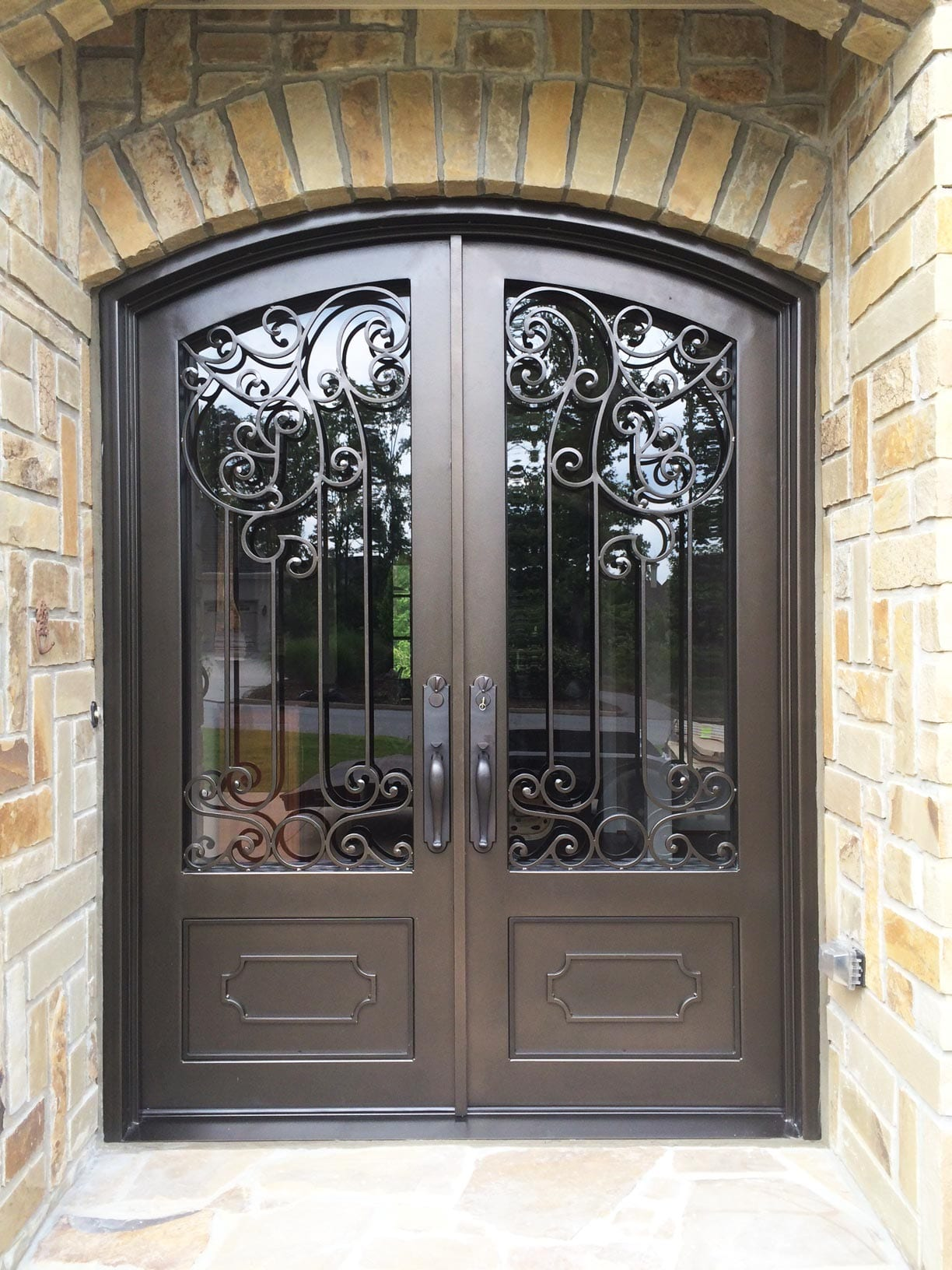 Id11 Iron Entry Door Iron Crafters Llc