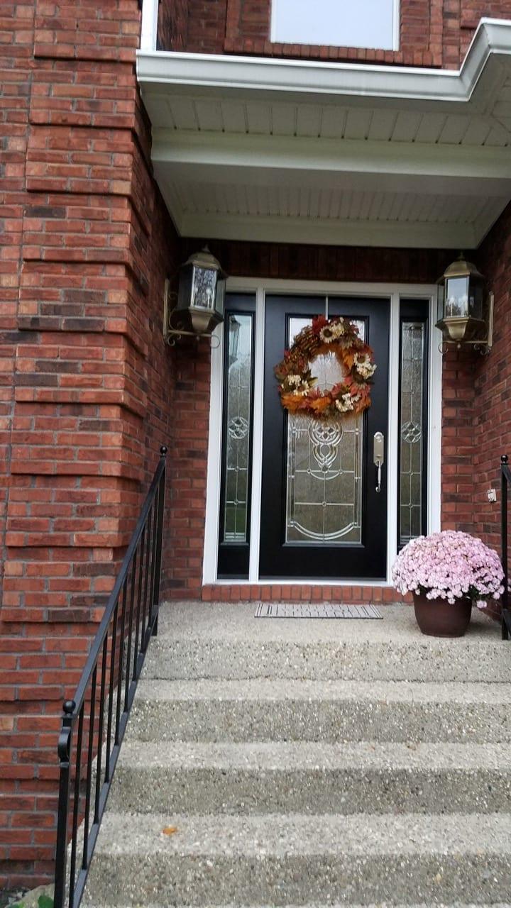 ED25 FIBERGLASS ENTRY DOOR
