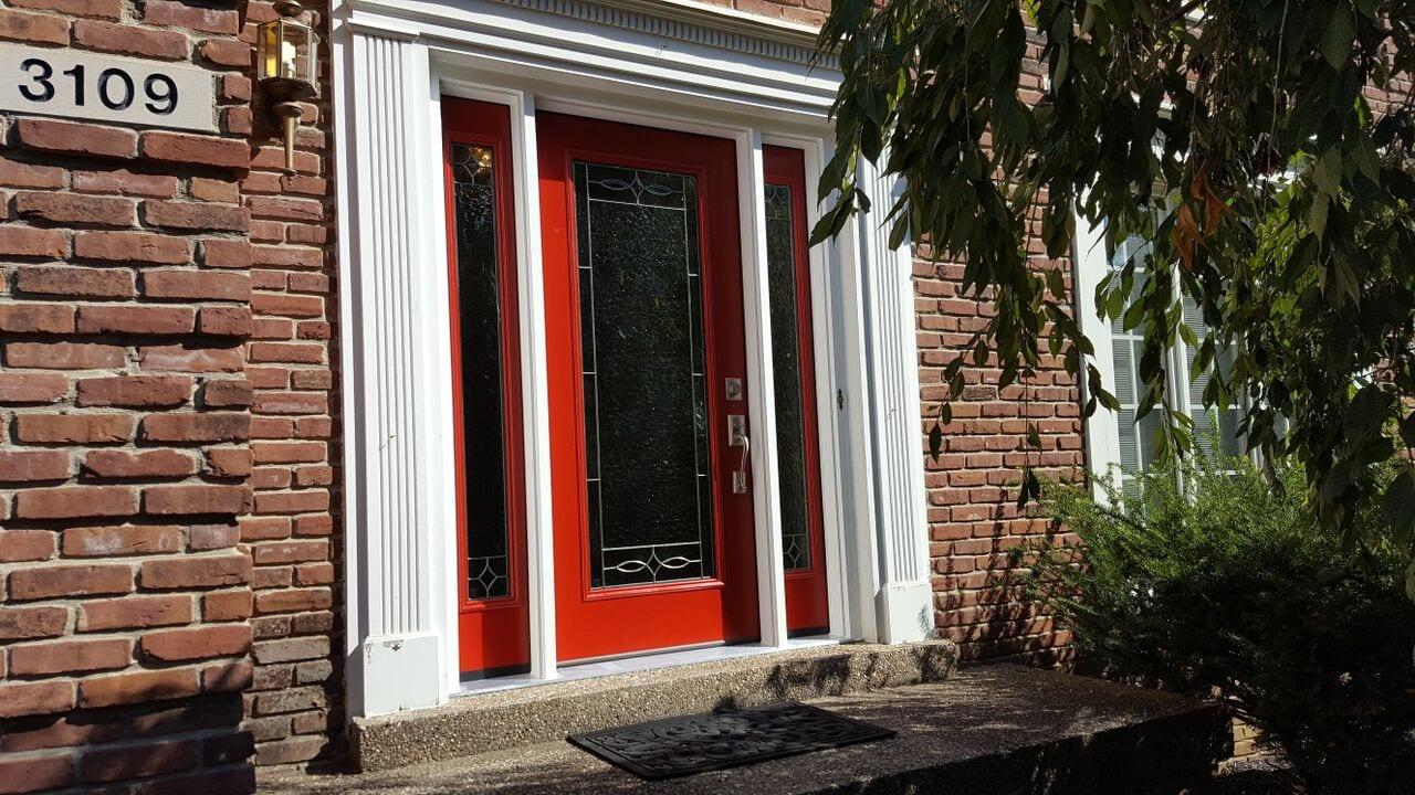 ED27 FIBERGLASS ENTRY DOOR