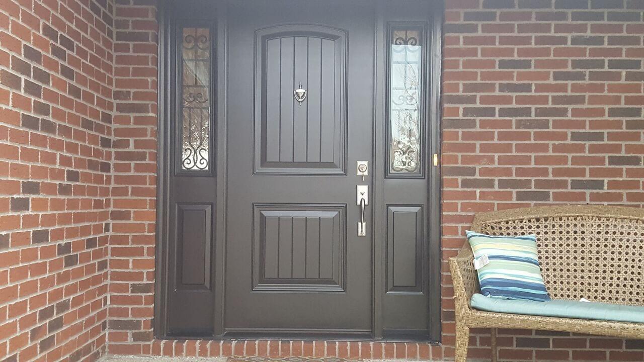 ED28 FIBERGLASS ENTRY DOOR