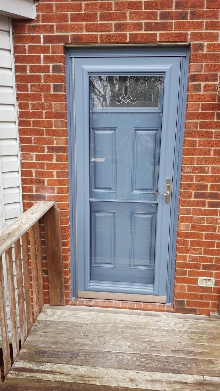ED26 FIBERGLASS ENTRY DOOR