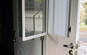 Multi-functional Security Door