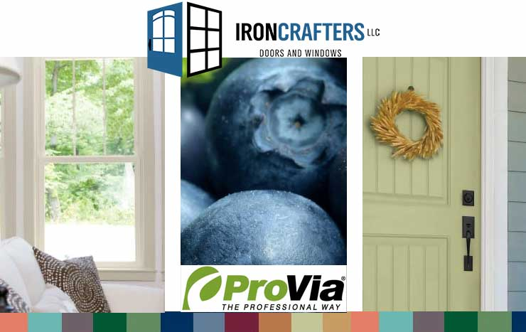 ProVia Storm Doors Now Available in Trending Colors