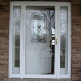 Joe and Belinda's New Storm Door